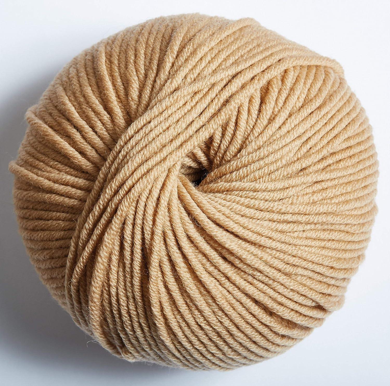 DMC 490-103 Woolly 5 Lana Merino 11.5 x 11.5 x 6 cm 80 m Beige