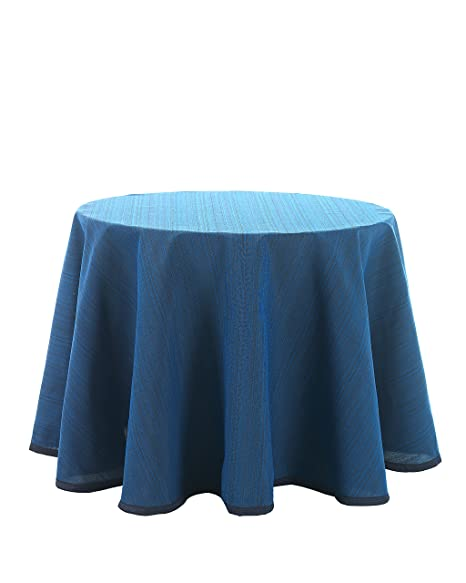 Martina Home Ribero - Falda para mesa camilla , Azul, Redonda de ...