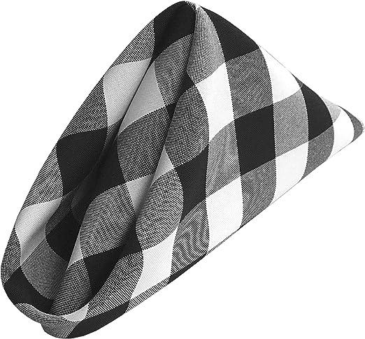 La Lino Pack de 10 Cuadros 45,72 x 45,72 cm servilletas de Cuadros ...