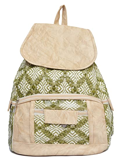 146dd3286404 Vintage Stylish Girls School bag College Bag Casual Backpack (In Three  Colors)(bag r 334) (Green)  Amazon.in  Bags