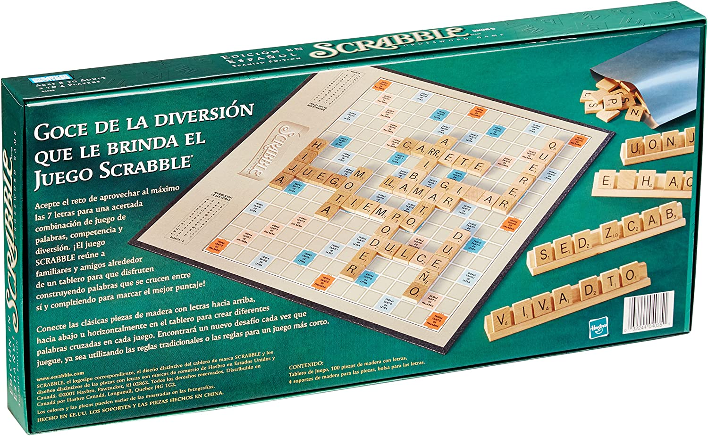 Hasbro Scrabble Español: Amazon.es: Juguetes y juegos
