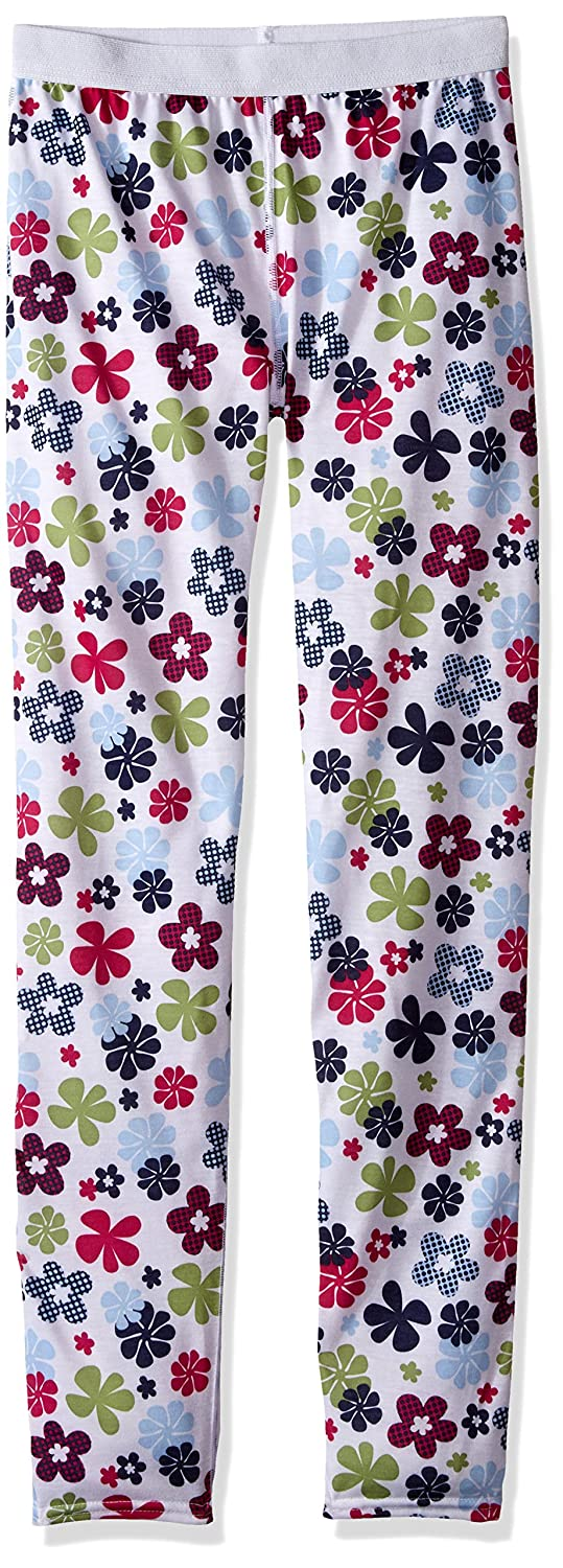 Hot Chillys Youth Pepper Skins Print Bottom, Flower Power, X-Small PS3500P