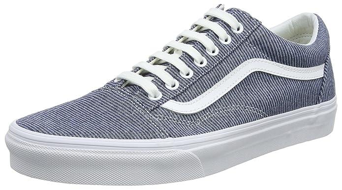Vans Old Skool Schuhe Damen Blau (Jersey)