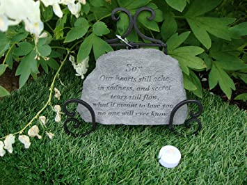 Son our hearts Great Thoughts Garden Accents Graveside
