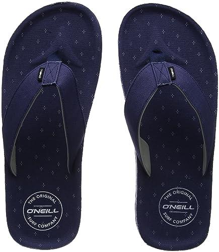 a62d81a41 O Neill Men s Fm Chad Pattern Flip Flops  Amazon.co.uk  Shoes   Bags