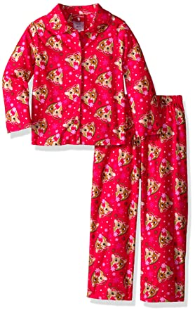 3a0dd2bfbb75 Amazon.com  Rudolph the Red-Nosed Reindeer Baby Girls 2-Piece Pajama ...