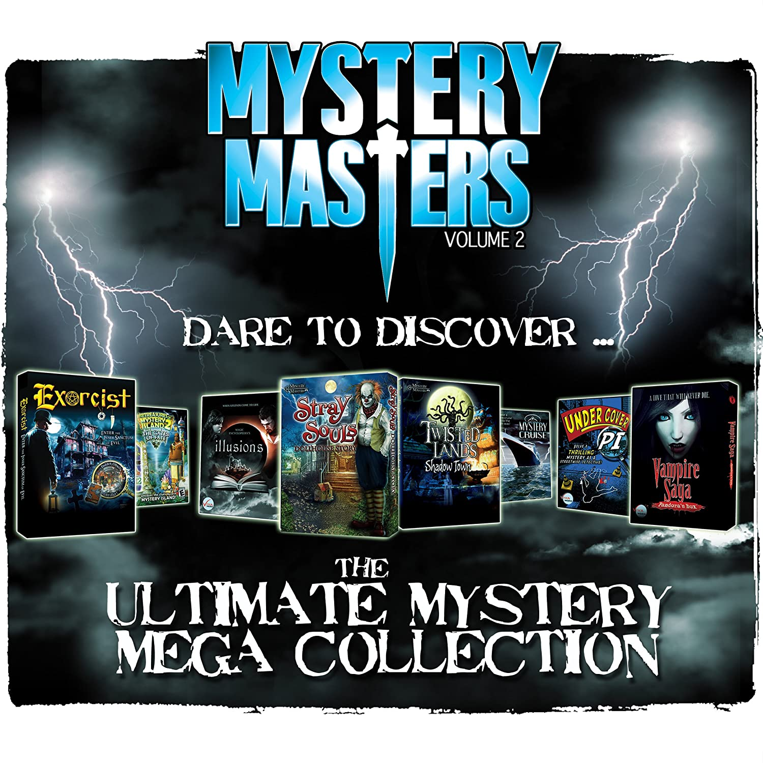 Amazon Mystery Masters Volume 2 15 Pack Software