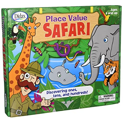 Didax Place Value Safari: Didax: Toys & Games