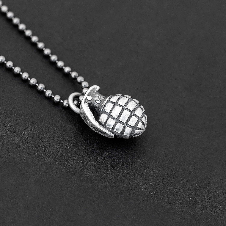 925 collar de plata esterlina para hombres colgante para hombres ...
