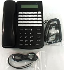 Comdial 7260-00 DX-80 30 Button LCD Display Speakerphone (Black) (Renewed)