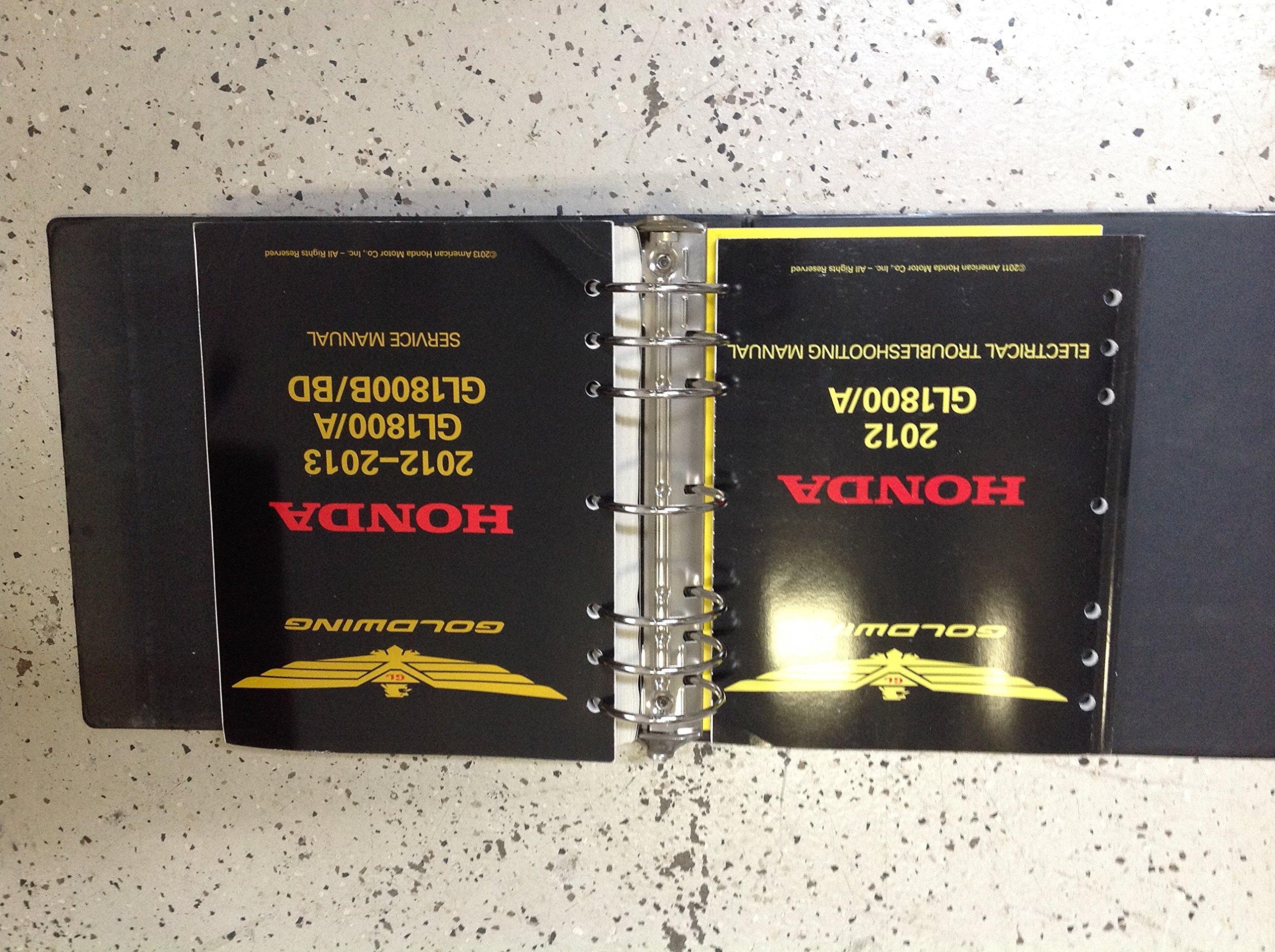 1994 honda goldwing gl1500 factory workshop repair manual
