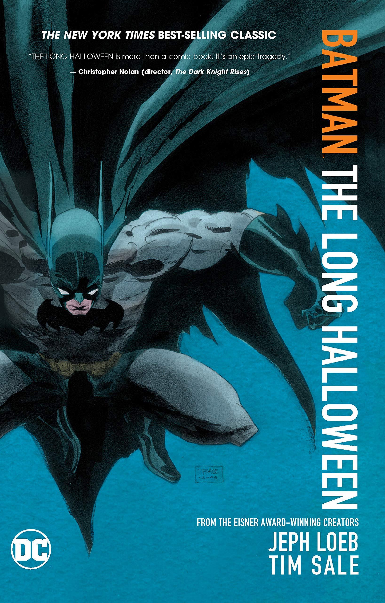 The Long Halloween Part 1 Issue 17 New DC Comics Graphic Novel Marvel Batman