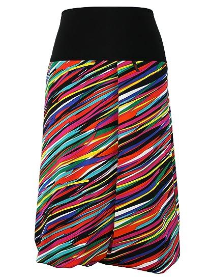 dunkle design - Falda - Globo - para Mujer Multicolor Small 40/42 ...