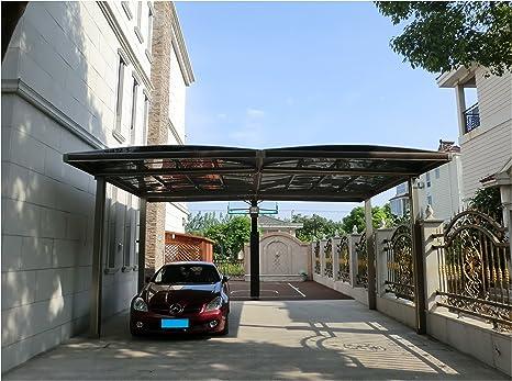 20 x 18 Premium policarbonato de aluminio garaje marquesina ...