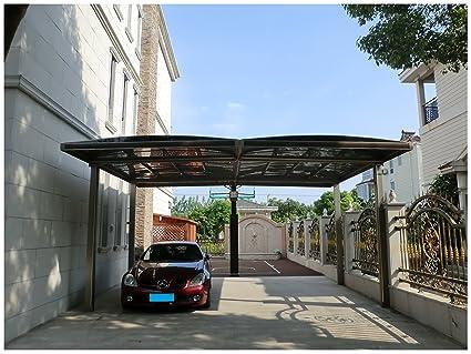 Bon 20u0027 X 18u0027 Premium Carport Aluminum Polycarbonate Garage Canopy Aluminum  Durable With Gutter Metal