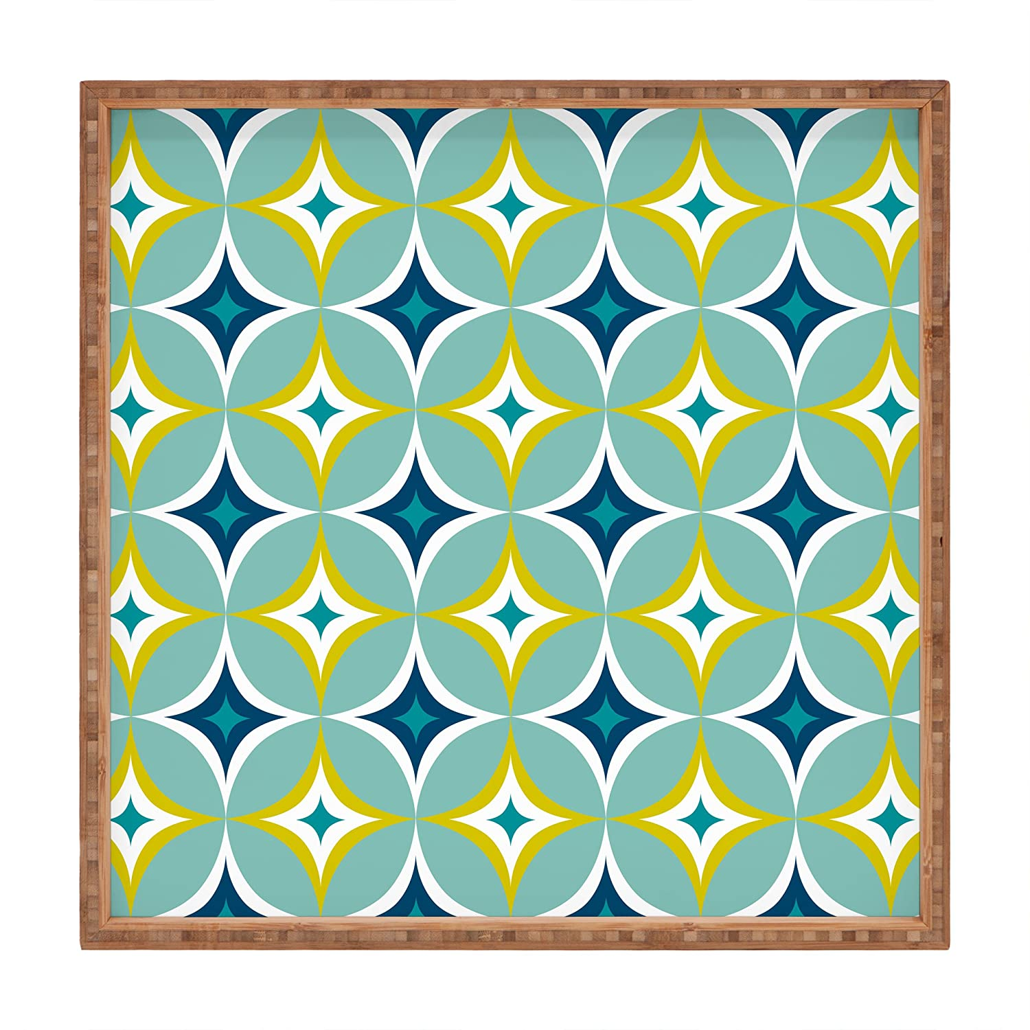 12 x 12 Deny Designs Heather Dutton Astral Slingshot Indoor//Outdoor Square Tray