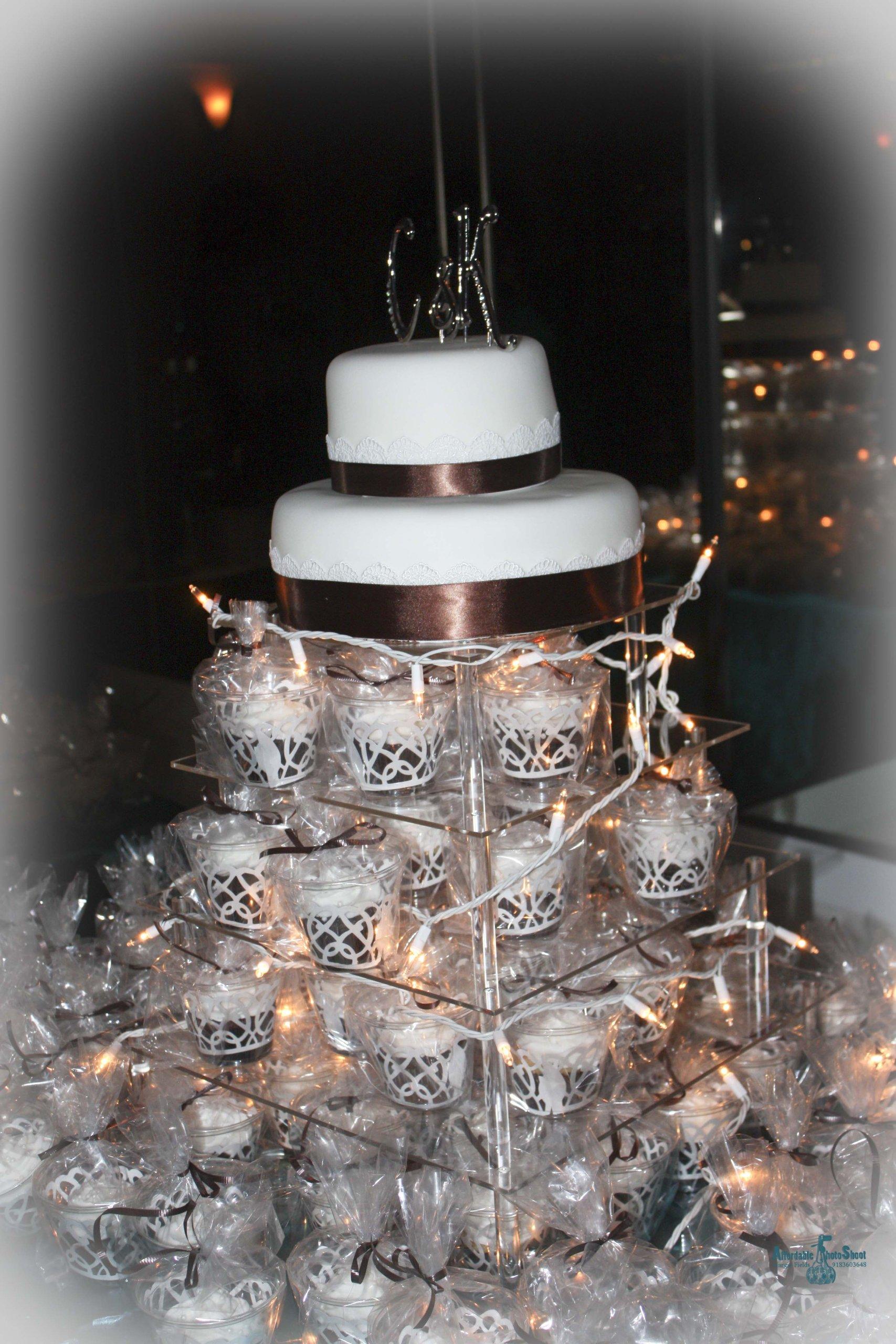 8 Tier Large Square Wedding Acrylic Cupcake Tower Cupcake Stand