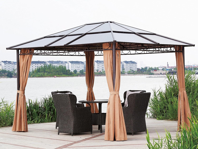 Pavillon Robust Set : Amazon hardtop pavillon m doppelstegplatten polycarbonat