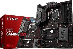 MSI Gaming Intel H270 DDR4 HDMI USB 3 ATX Motherboard (H270 GAMING M3)