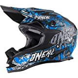 O'Neal 7Series MX Helm Evo Menace Neongrün Moto Cross Motorrad, 0583M-10