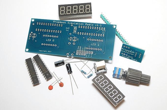 PropWash Simulation Radio Panel Kit with encoder: Amazon ca