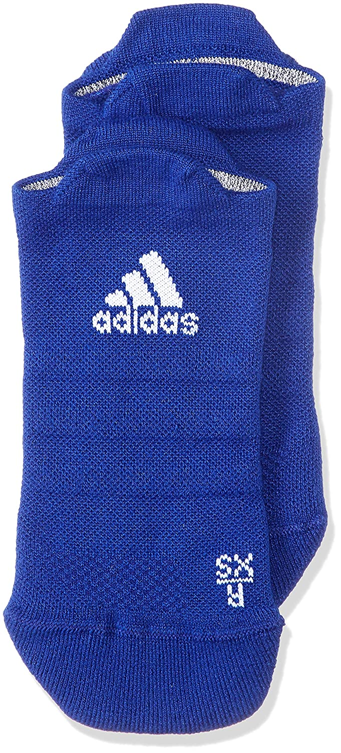 adidas Alpha Skin No Show Lightweight Cushioning Socks, Unisex, DM6081