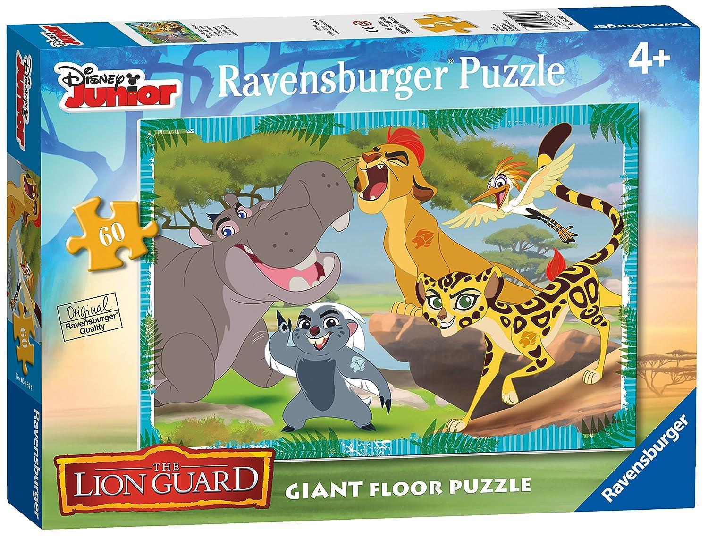 2019年新作入荷 Ravensburger Giant Jigsaw 21121 Pieces Disney The Lion Guard Giant Floor Jigsaw Puzzle - 60 Pieces B01AG6DF6S, 東牟婁郡:2ef4b485 --- diceanalytics.pk