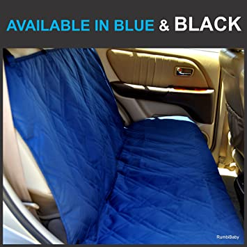 Bench Seat Protector for Infant Carseats - Catch Crumbs & Spills  Lifelong  Promise  Available in Black Or Blue