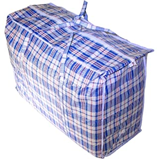 Amazon.com: Set of 4 Extra-Large Plastic Checkered Storage Laundry ...