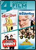 Office Space / Mrs Doubtfire / My Cousin Vinny / Super Troopers Quad Feature