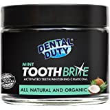 Natural Teeth Whitening Charcoal Powder - Made in USA - with Organic Coconut Activated Charcoal for Stronger Healthy Whiter Teeth. No need for Strips, Kits or Gel.