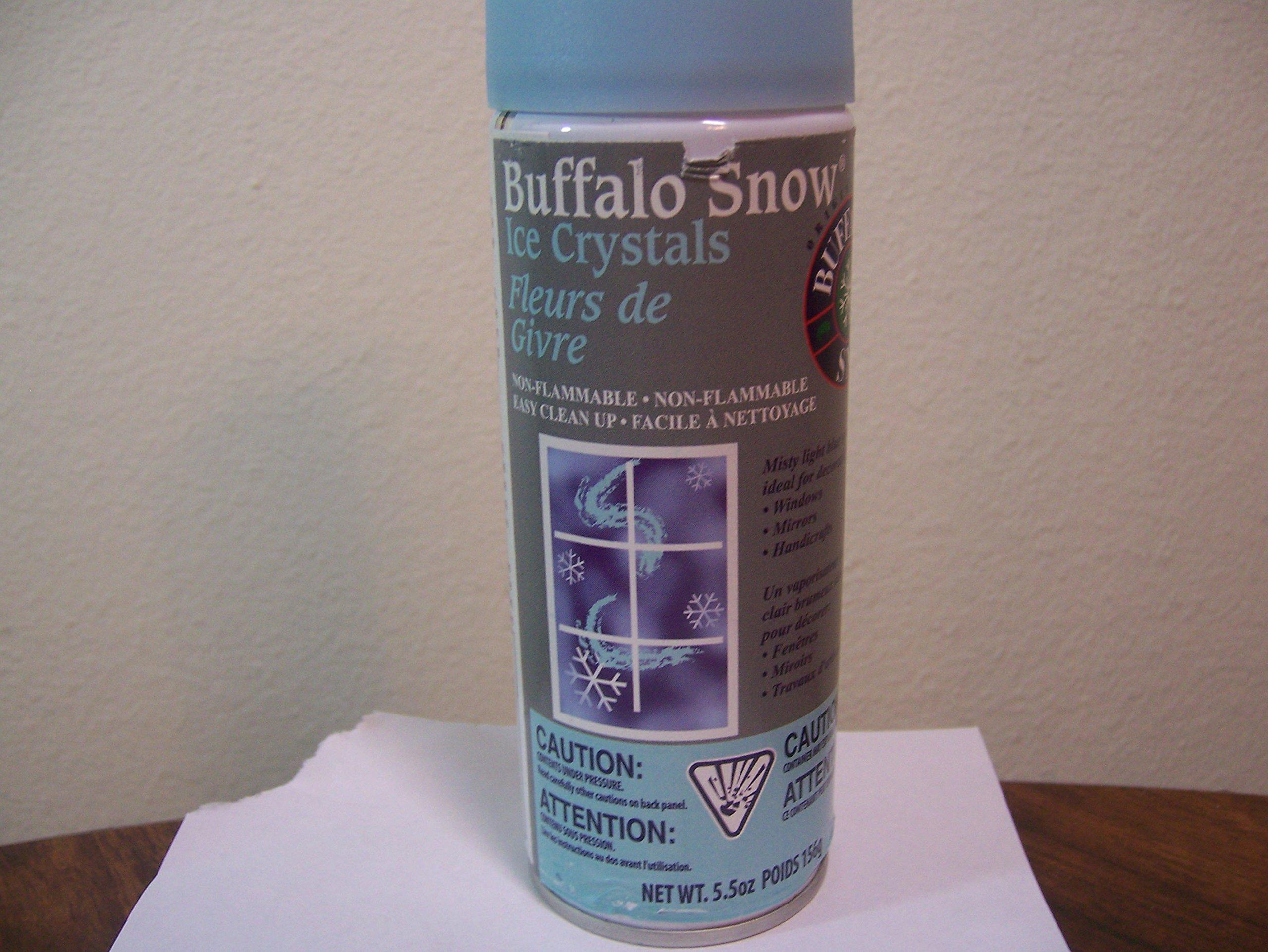 Buffalo Snow Ice Crystals
