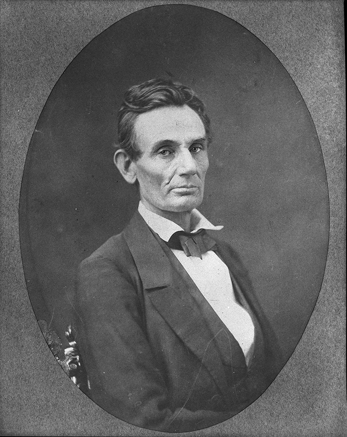 Abraham Lincoln Photograph 4 x 6 - Gloss Historical Artwork from 1859 -
