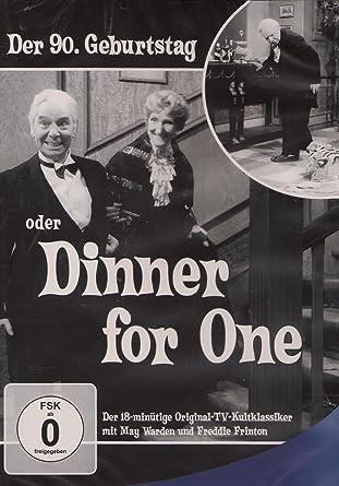 Der neunzig geburtstag oder dinner for one