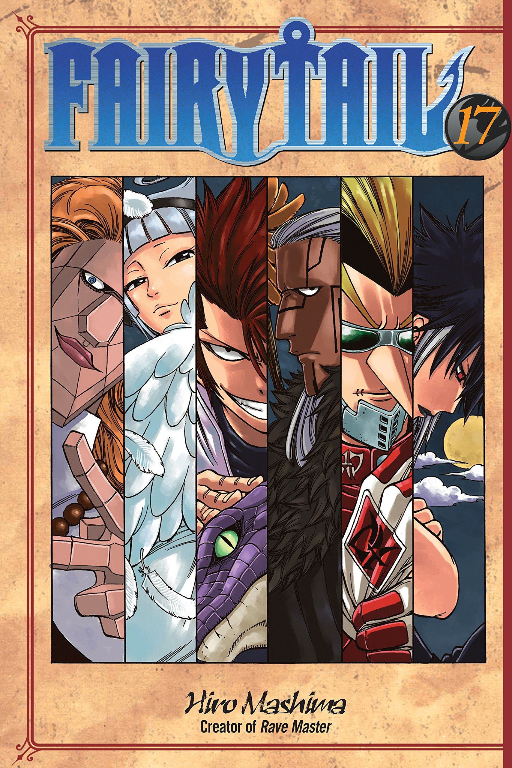 Fairy Tail Vol. 17 por Hiro Mashima