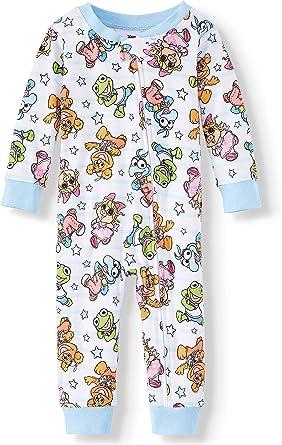 Muppet Babies Pijama algodón sin pies para niñas y niños pequeños - Blanco - 24 Meses: Amazon.es: Ropa y accesorios