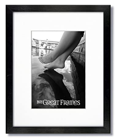 Amazoncom One 16x20 Black Wood Picture Frames And Clear Glass