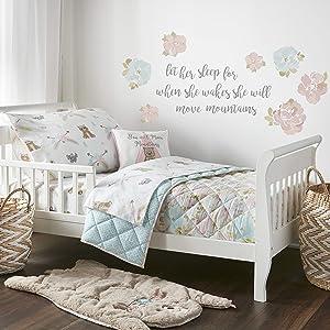 Levtex Baby Mermaid 5pc Pink, Toddler Set