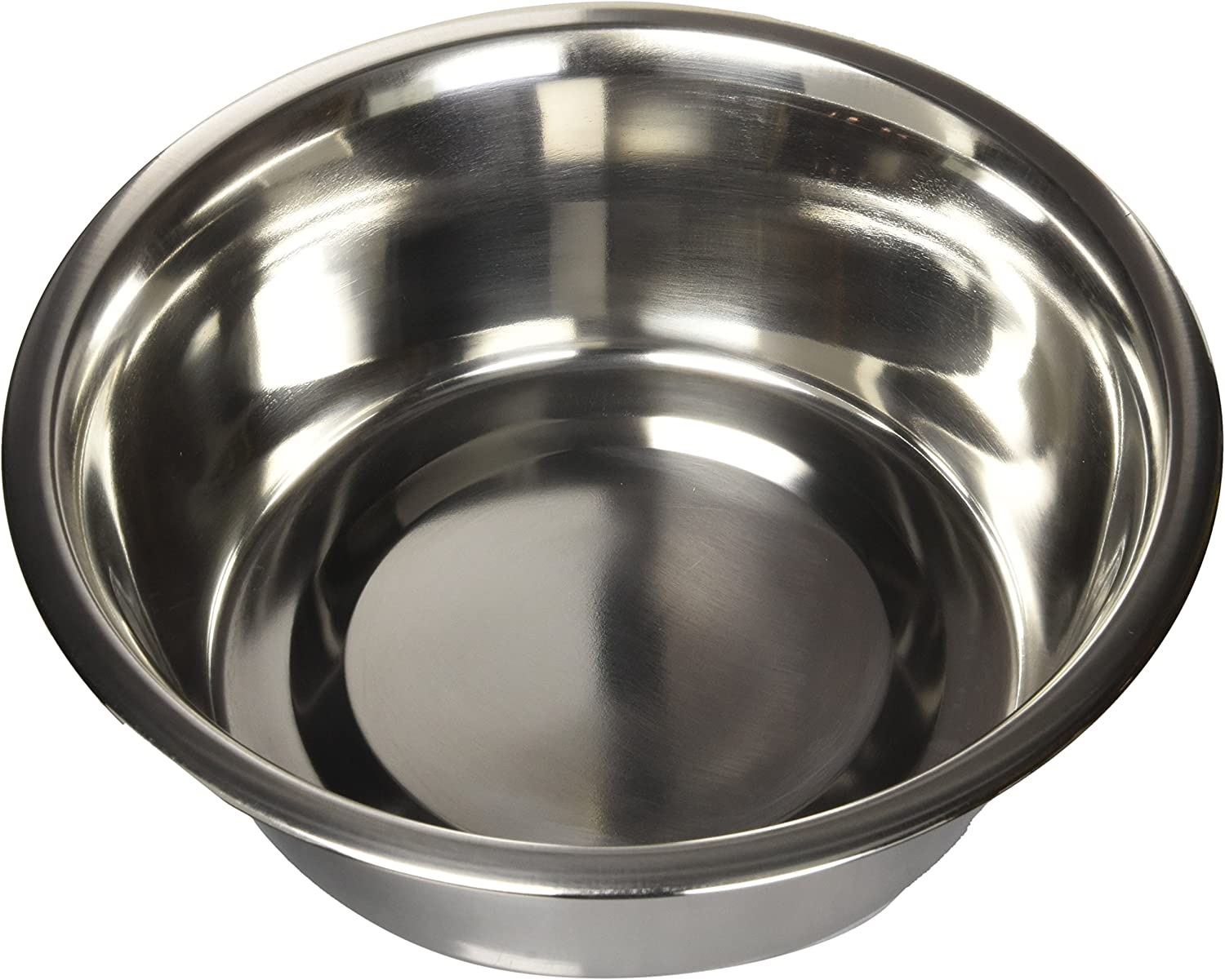 Dogit Stainless Steel Dog Bowl for Water or Food, Heavy Duty and Solid Construction, Holds 68 Fluid Ounces