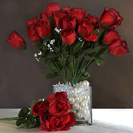Amazon Efavormart 84 Artificial Buds Roses For Diy Wedding