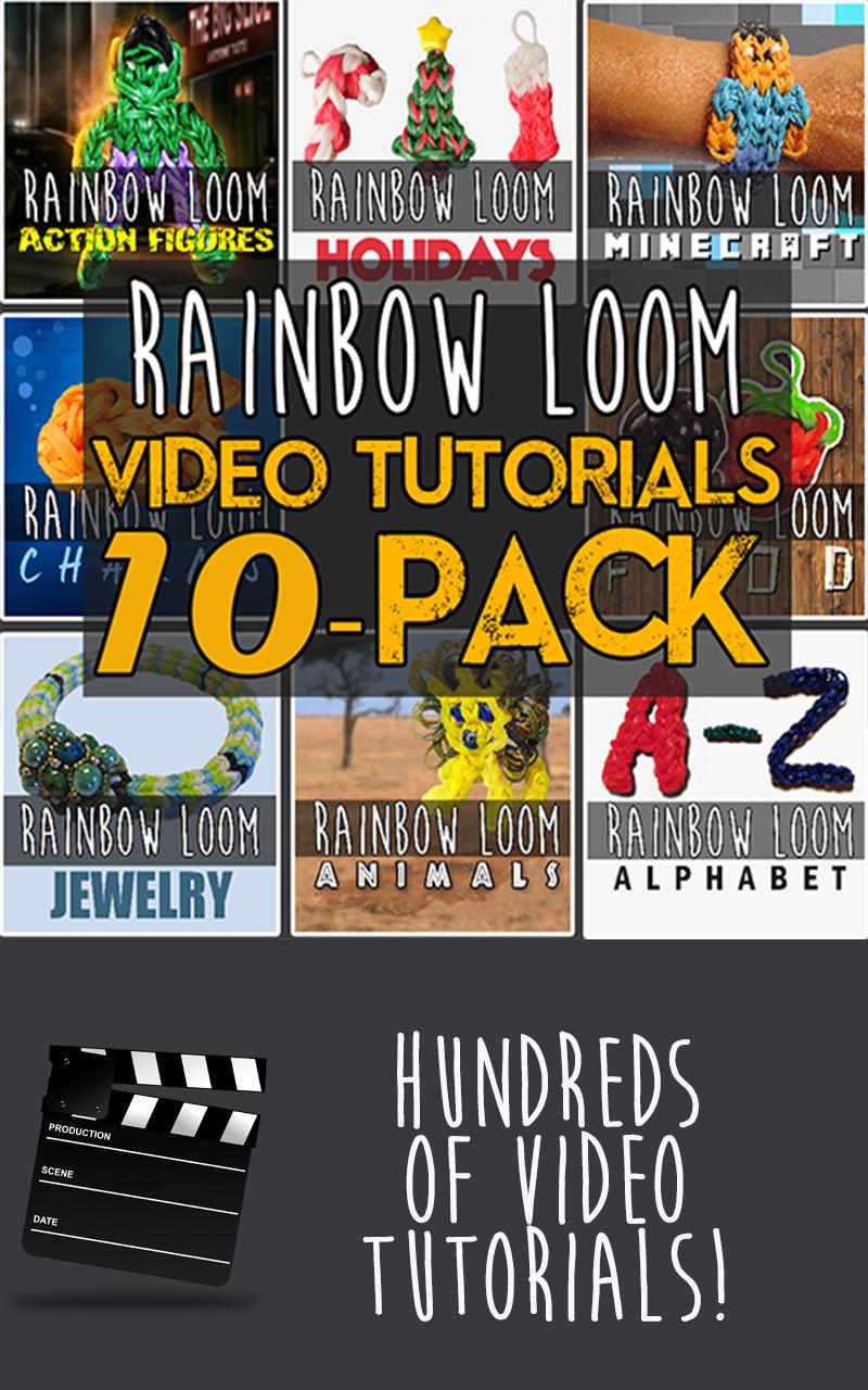 amazoncom ultimate rainbow loom video tutorials pro