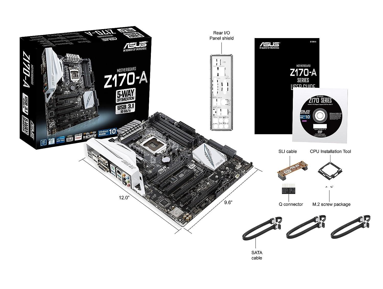 ASUS Z170-A LGA1151 DDR4 Motherboard
