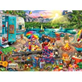 Buffalo Games 11750 -Aimee Stewart-The Family Campsite-1000 Piece Jigsaw Puzzle
