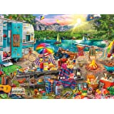 Buffalo Games - Aimee Stewart - The Family Campsite - 1000 Piece Jigsaw Puzzle