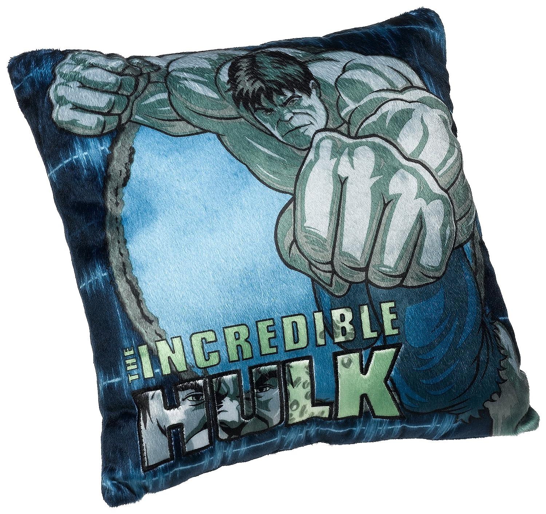 Amazon.com: The Incredible Hulk 13-Inch Decorative Pillow: Home ...