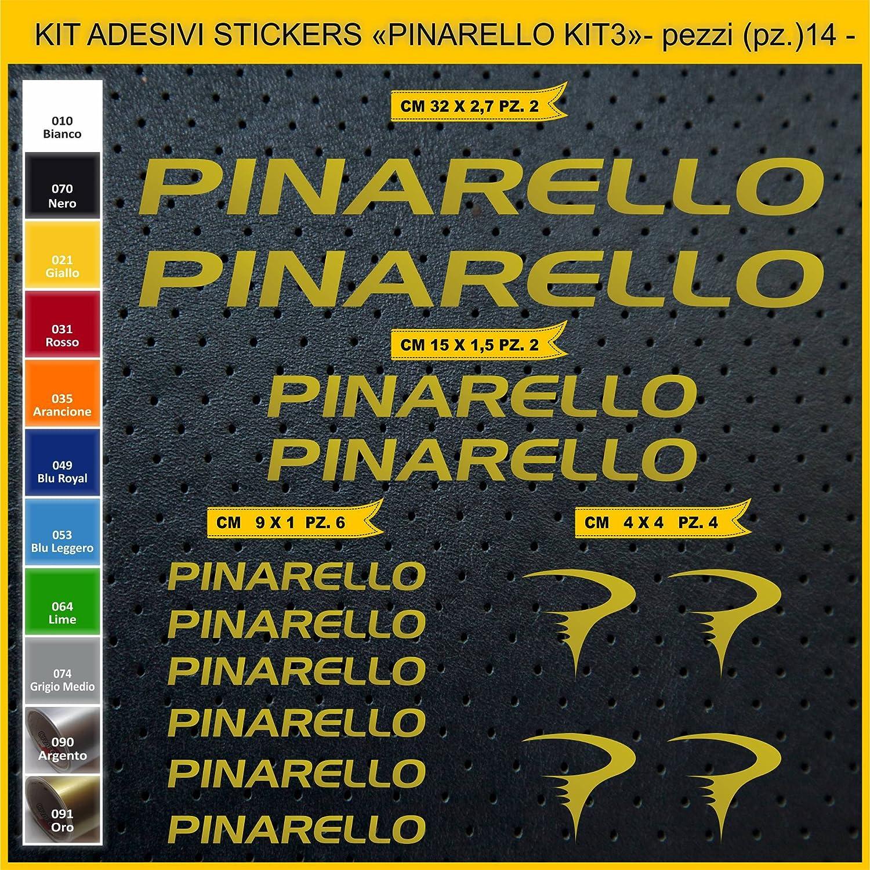 Bike Cycle pegatina cod.0887 Scegli SUBITO Colore Adesivi Bici PINARELLO/_Kit 3/_ Kit Adesivi Stickers 14 Pezzi