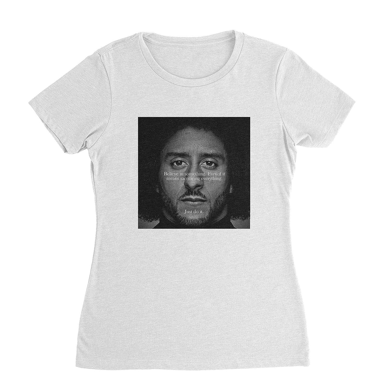 1971b16acd8f2c Amazon.com  Colin Kaepernick Shirt - Ad Kap Women Tshirt  Clothing