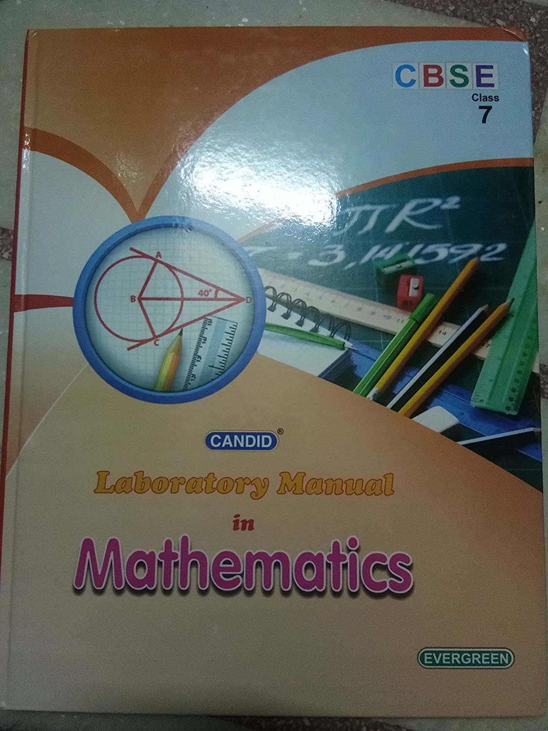 Candid Laboratory Manual in Mathematics Class - 7: Amazon.in: Electronics