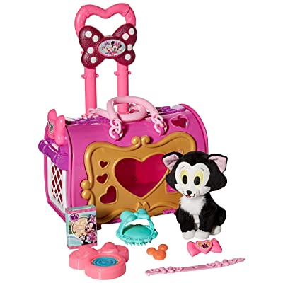 Minnie Mouse Minnie's Happy Helpers Pet Carrier - Figaro: Toys & Games