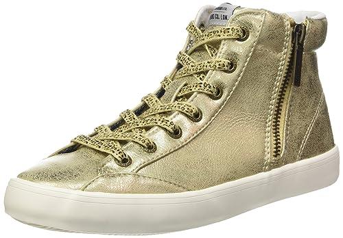 Pepe Jeans PLS30359 - Zapatillas de Deporte de Sintético Mujer, Dorado (Dorado (099Gold)), 36 EU: Amazon.es: Zapatos y complementos